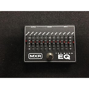 used mxr m108 10 band eq pedal guitar center. Black Bedroom Furniture Sets. Home Design Ideas