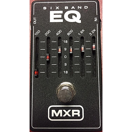 MXR M109 6 Band EQ Pedal