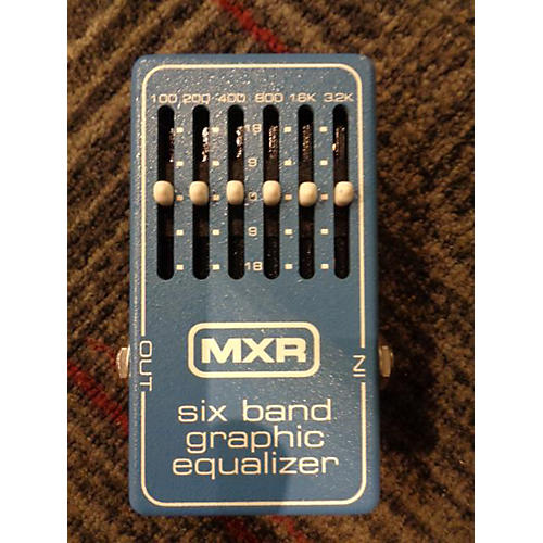 used mxr m109 6 band eq pedal guitar center. Black Bedroom Furniture Sets. Home Design Ideas