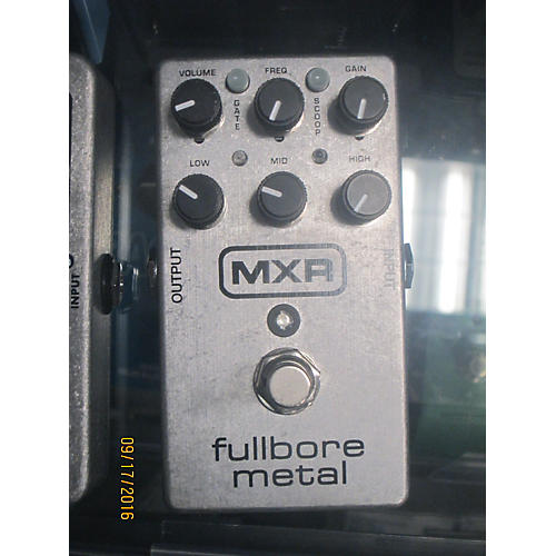 MXR M116 Fullbore Metal Distortion Effect Pedal-thumbnail