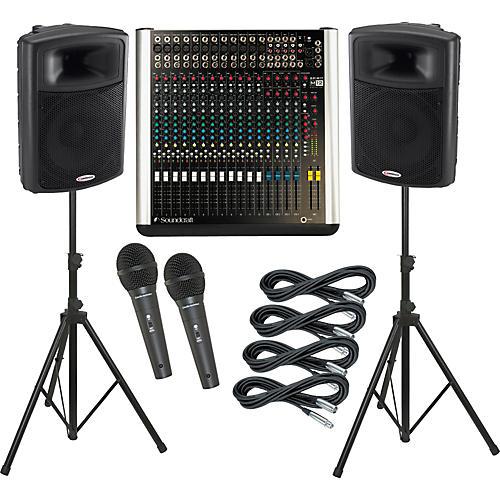 Soundcraft M12 / Harbinger APS15 PA Package