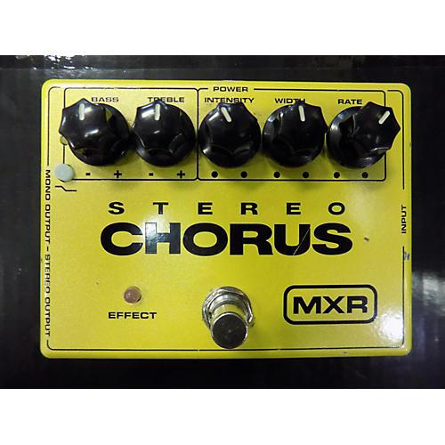 MXR M134 Stereo Chorus Effect Pedal-thumbnail