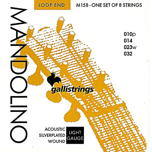 Galli Strings M158 Silverplated MANDOLINO Strings-thumbnail