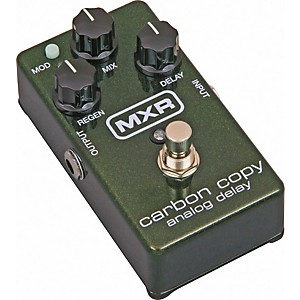 MXR M169 Carbon Copy Analog Delay Guitar Effects Pedal