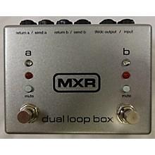 MXR M198 DUAL LOOP Pedal