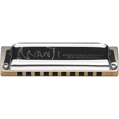 Suzuki M20 Manji 10-Hole Harmonica-thumbnail