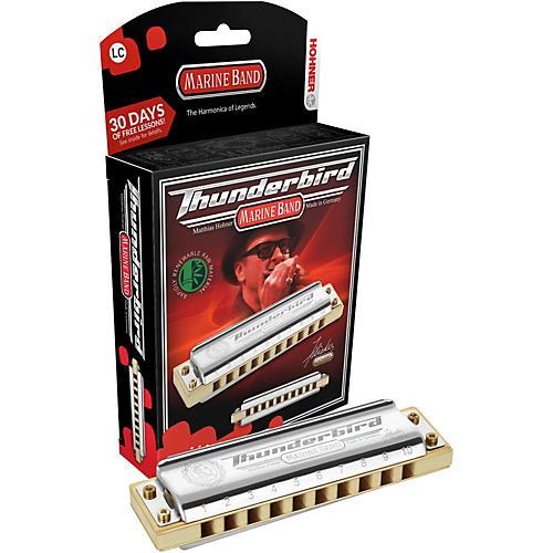 Hohner M2011 Marine Band Thunderbird Low Tuned Harmonica-thumbnail