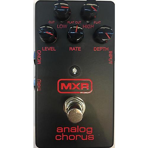 used mxr m234bk analog chorus effect pedal guitar center. Black Bedroom Furniture Sets. Home Design Ideas