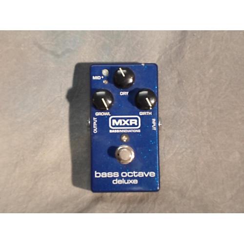 MXR M288 Bass Octave Deluxe Bass Effect Pedal-thumbnail