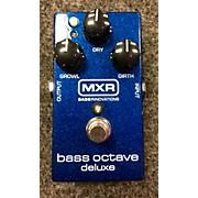 MXR M288 Bass Octave Deluxe Bass Effect Pedal