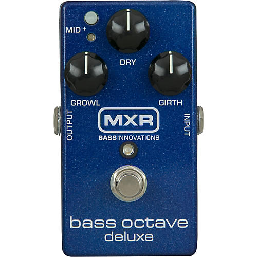 MXR M288 Bass Octave Deluxe Effects Pedal-thumbnail