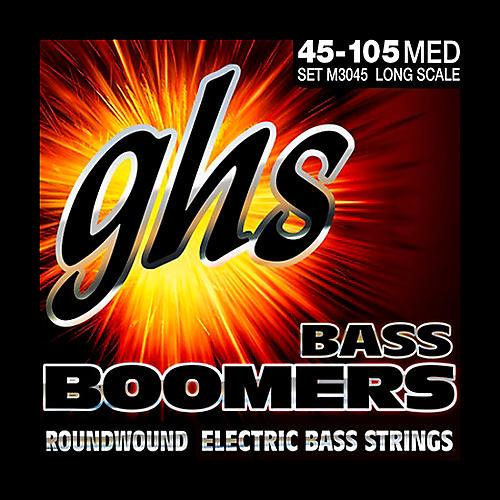 GHS M3045 Bass Boomers Medium Electric Bass Strings-thumbnail