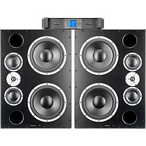 Dynaudio Acoustics M3XE 12 inch 3-Way Monitors with PLM 12K44 4-Channel Amplifi... by Dynaudio Acoustics