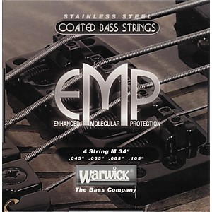 Warwick M4 EMP COATED Bass String Medium by Warwick