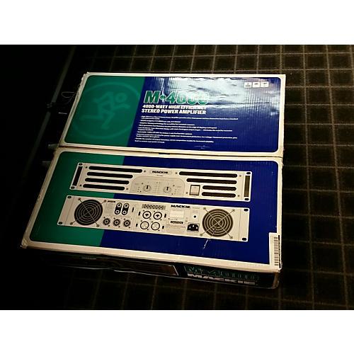 Mackie M4000 Power Amp