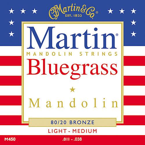 Martin M450 80/20 Bronze Bluegrass Acoustic Mandolin Strings