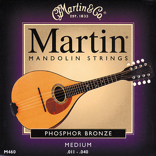 Martin M460 92/8 Phosphor Bronze Mandolin Strings-thumbnail
