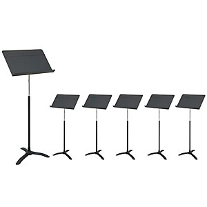 Manhasset M48 Carton of 6 Music Stands by Manhasset