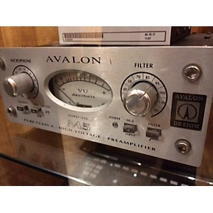 Pre-owned Avalon M5 Mono Pure Class A Microphone Preamp by Avalon