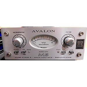 Pre-owned Avalon M5 Mono Pure Class A Microphone Preamp