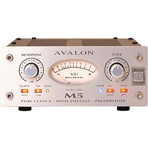 Avalon M5 Mono Pure Class A Microphone Preamp by Avalon
