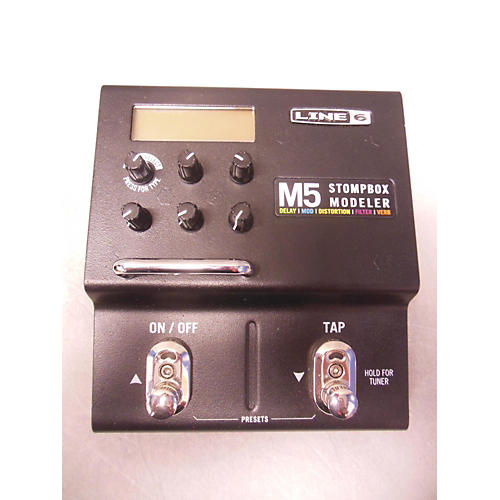 Line 6 M5 Stompbox Modeler Effect Processor-thumbnail