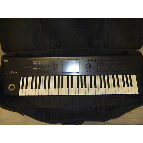 Korg M50 61 Key Keyboard Workstation-thumbnail