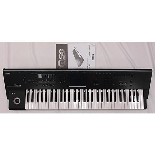 used korg m50 keyboard workstation guitar center. Black Bedroom Furniture Sets. Home Design Ideas