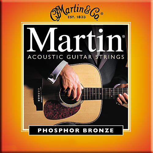 Martin M545 Light-Medium Phosphor Bronze Acoustic Guitar Strings-thumbnail