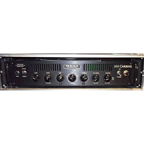 Mesa Boogie M6 Carbine 600W Tube Bass Amp Head-thumbnail