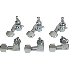 Schaller M6 Mini Tuning Machine Heads 6 In-Line Level 1 Black