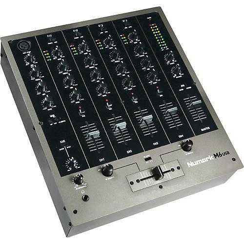 Numark M6 USB DJ Mixer