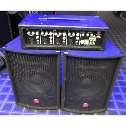 used harbinger m60 pa system sound package guitar center. Black Bedroom Furniture Sets. Home Design Ideas