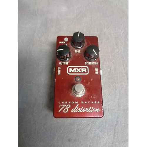 MXR M78 1978 Custom Badass Distortion Effect Pedal-thumbnail
