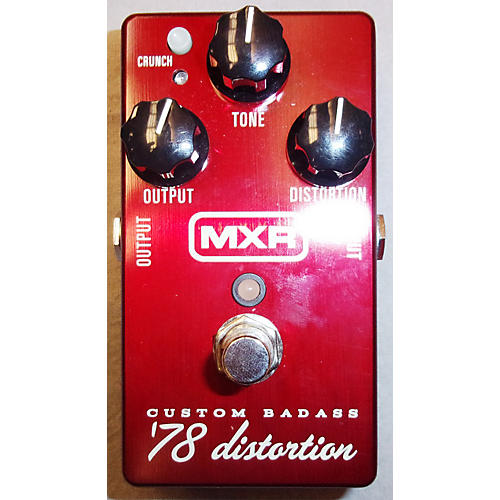 MXR M78 1978 Custom Badass Distortion Effect Pedal-thumbnail