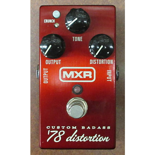 MXR M78 1978 Custom Badass Distortion Effect Pedal