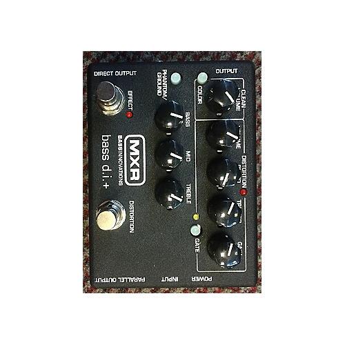 MXR M80 Bass Direct Box With Distortion Effect Processor