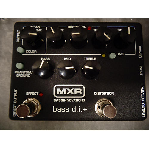 used mxr m80 bass overdrive bass effect pedal guitar center. Black Bedroom Furniture Sets. Home Design Ideas