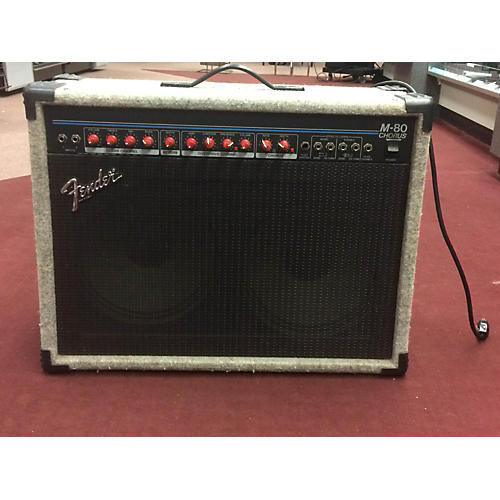 Fender M80 Chorus 2x12 Guitar Combo Amp