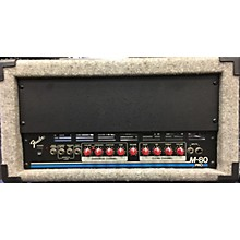 Fender M80 Pro Solid State Guitar Amp Head