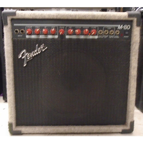 Fender M80 (Reverb Does Not Work) Guitar Combo Amp