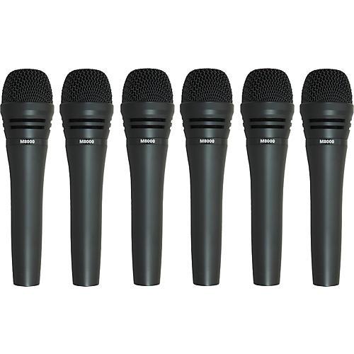 Audio-Technica M8000 Dynamic Mic 6 Pack-thumbnail