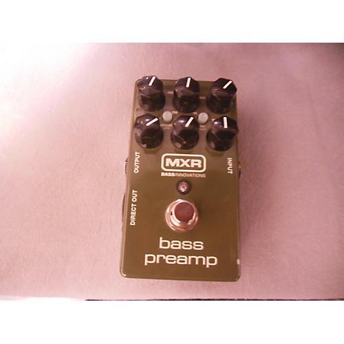 MXR M81 Bass Preamp Bass Effect Pedal-thumbnail