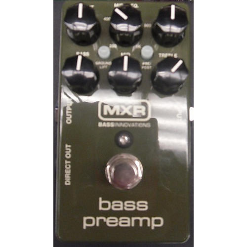 MXR M81 Bass Preamp Bass Effect Pedal