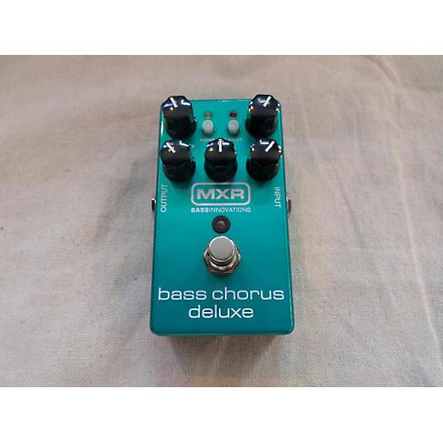 MXR M83 Bass Chorus Deluxe Bass Effect Pedal-thumbnail