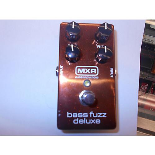 MXR M84 Deluxe Bass Fuzz Effect Pedal-thumbnail