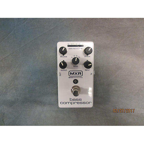 MXR M87 Bass Compressor Bass Effect Pedal