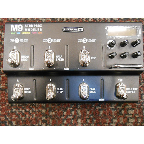 Line 6 M9 Stompbox Modeler Effect Processor
