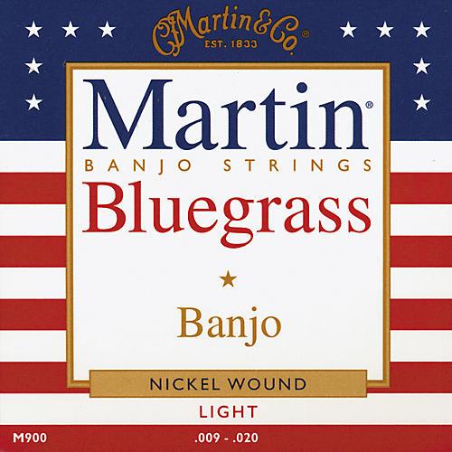 Martin M900 Light Bluegrass Banjo Strings-thumbnail