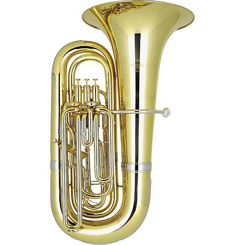 Miraphone M9000L Ambassador Lacquer BBb Tuba M9000S Silver-thumbnail